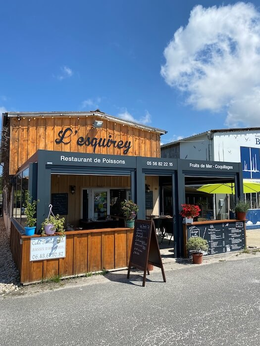 L'esquirey - Restaurant andernos-les-bains 1